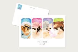 ポストカード SYARENEKO-CAP